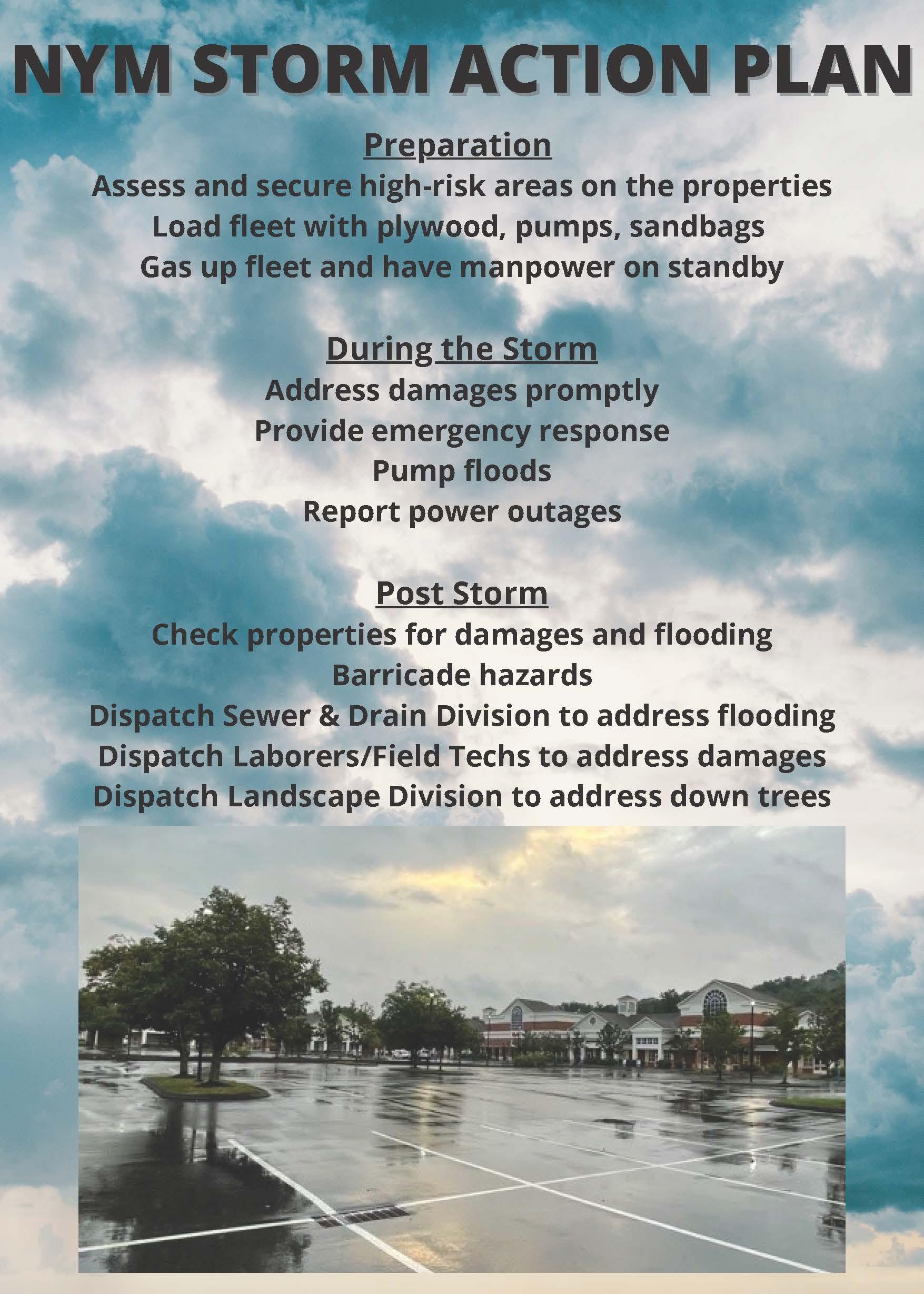 NYM Storm Action Plan